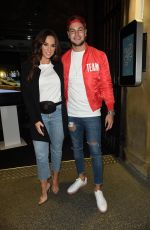 Vicky Pattison At Night Out At Rosso Restaurant in Manchester