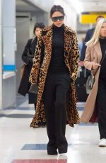 Victoria Beckham Arrives at JFK Airport