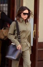 Victoria Beckham Leaving her New York City hotel