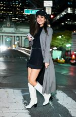 Victoria Justice On a night out in New York