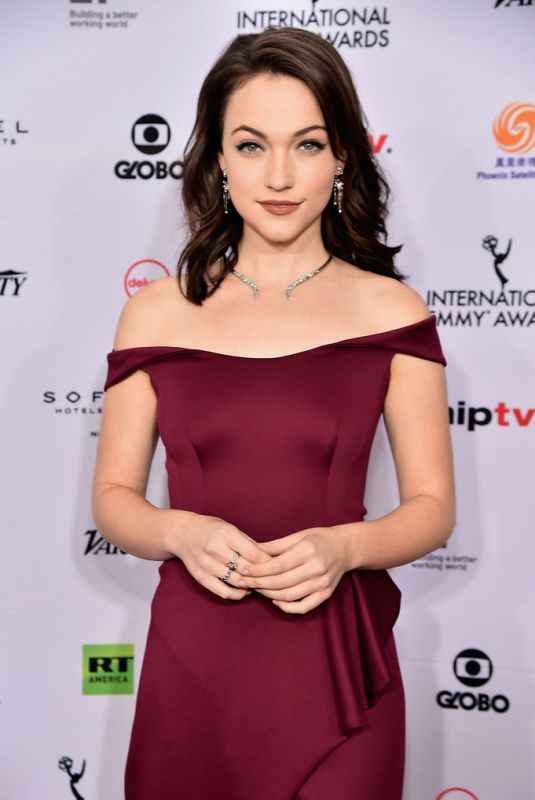 Violett Beane At 46th Annual International Emmy Awards in NYC