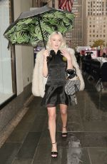 Zara Larsson Out in NYC