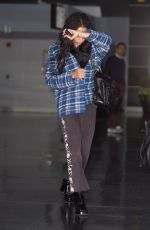 Zoe Kravitz Arrives at JFK airport in a casual ensemble in New York