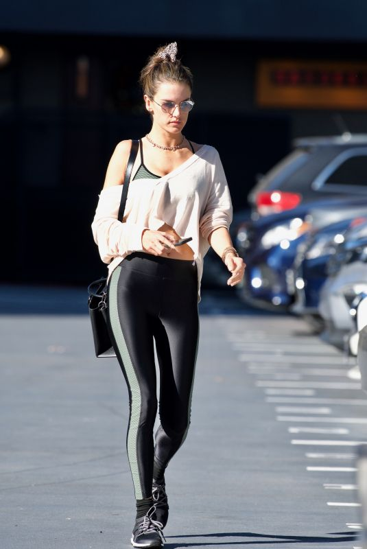 Alessandra Ambrosio Out in Brentwood