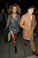 Alexandra Mardell At The Coronation Street Christmas Party at The Principle Hotel in Manchester