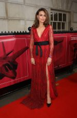 Alicia Lowes At The Sun Military Awards, London, UK