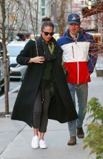Alicia Vikander & Michael Fassbender Out in New York