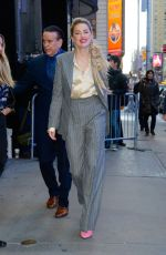 Amber Heard Arriving at