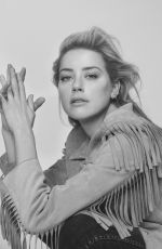 Amber Heard - The Edit by Net-a-porter, November 2018