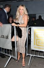 Amber Turner Arriving at Faces Nightclub in Gants Hill Essex