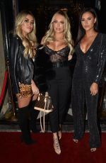 Amber Turner Attends MISSPAP X GLAMIFY Christmas event at DASH Liverpool