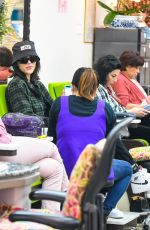 Amelia Gray Gets Her Nails Done In Beverly Hills