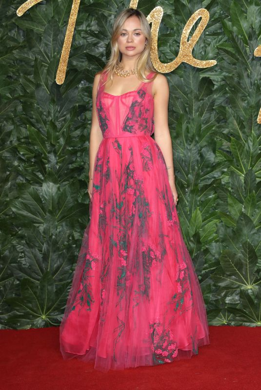 Amelia Windsor At The British Fashion Awards in London
