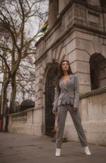 Amy Jackson On the streets of London