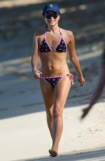 Andrea Corr Enjoying a fun day on the beach at the posh Sandy Lane Hotel in Barbados
