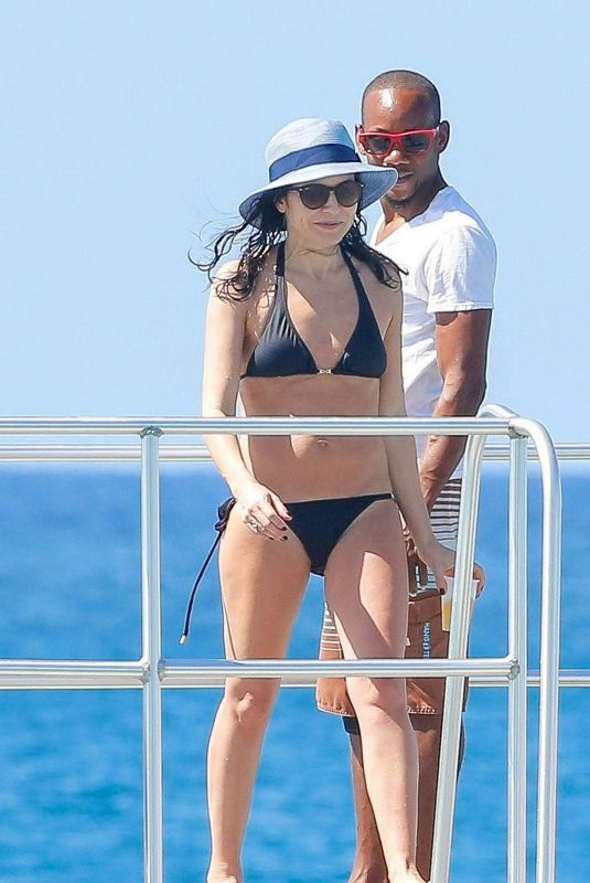 Andrea Corr In bikini in Barbados
