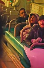 Ariana Grande Have fun with friends at Disneyland in Los Angeles