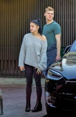 Ariel Winter Waiting for her car in Los Angeles