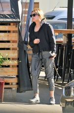 Ashley Benson Joined a friend while grabbing a bite in Studio City