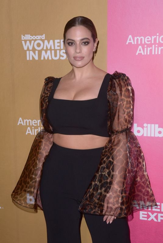 Ashley Graham At Billboard Women In Music 2018 at Pier 36 in New York