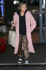 Ashley Roberts At Strictly Come Dancing Celebrities and Dancers seen leaving their hotel, London
