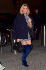 Ashley Tisdale Arriving at Madison Square Garden in New York City