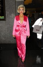 Bebe Rexha Leaving the tonight show starring jimmy fallon in NYC