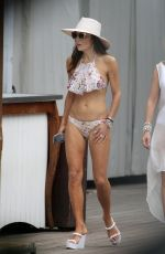 Bethenny Frankel In a bikini while the other Real Housewives enjoy drinks by the pool in Miami
