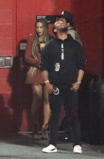 Beyonce At the Travis Scott concert in Los Angeles