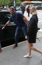 Brie Larson Enjoys a stroll with her security team at The MASP in Sao Paulo, Brazil