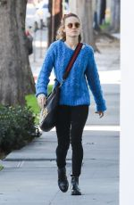 Brie Larson Heads to spa massage in West Hollywood