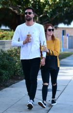 Brittany Snow Out in Los Angeles