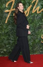 Brooke Shields At The British Fashion Awards in London