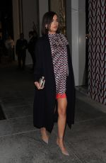Camilla Belle Attends a Valentino party in Beverly Hills