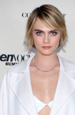 Cara Delevingne At The Teen Vogue Summit Los Angeles 2018