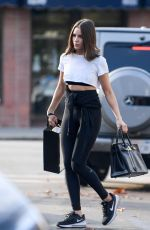 Cara Santana and Olivia Culpo Leave an early morning gym session in LA