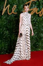 Carey Mulligan At The British Fashion Awards, Royal Albert Hall, London