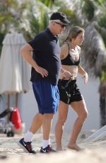 Caroline Kennedy Goes for a morning swim in St. Barts