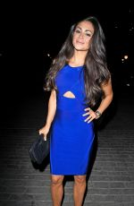 Casey Batchelor At Night Out in London