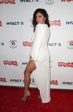Cassie Scerbo At 6th annual winter wonderland toys for tots party In LA