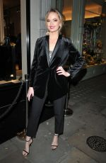 Charli Fisher At The ELA London store launch party, London, UK