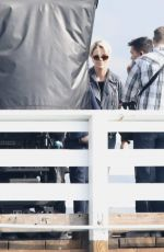 Charlize Theron On set her new film in Mailibu