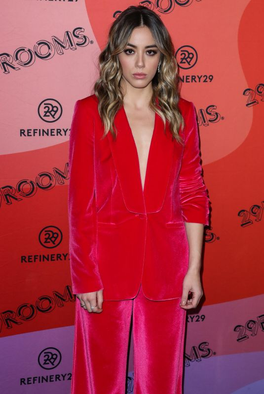 Chloe Bennet At Refinery29 29Rooms Expand Your Reality Opening Party, Los Angeles