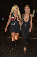 Chloe Ferry Hits the Toon with Bethan Kershaw in Newcastle