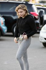 Chloe Moretz Leaving a Gym in Los Angeles