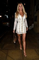 Christine McGuinness At Cheshire Home Interiors Christmas Night Out in Manchester