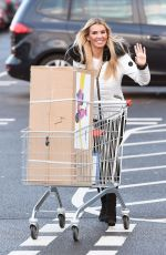 Christine McGuinness Stocks up on Christmas presents for her children at a Warrington toy superstore
