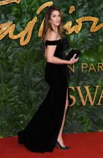 Cindy Crawford At The British Fashion Awards in London