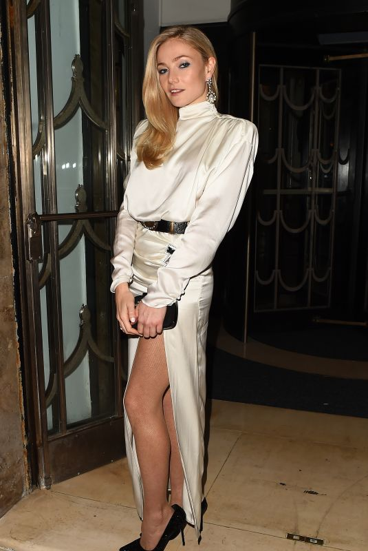 Clara Paget Attends