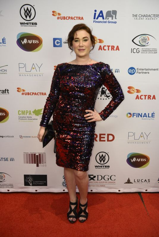 Colleen Rennison At 7th annual UBCP/ACTRA Awards Gala at the Vancouver Playhouse
